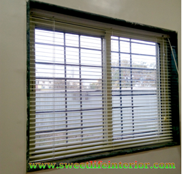 Aluminium Venetian blinds 1 TO 12