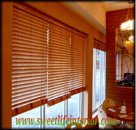 Wooden Venetian Blinds 11 TO 20 ( 35MM )